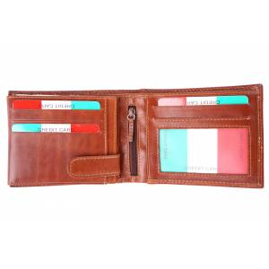Samuele V Leather Wallet
