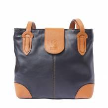 Filomena leather shoulder bag