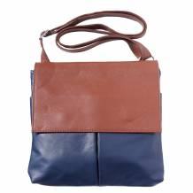 Oriana leather shoulder bag