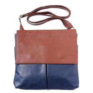 Oriana leather shoulder bag