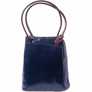 Daria Leather backpack-shoulder bag