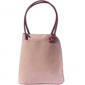 Daria Leather backpack-shoulder bag