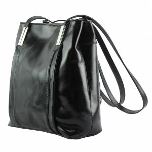 Lidia leather shoulder bag