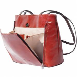 Ludovica leather shoulder bag