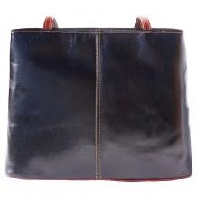 Ludovica leather shoulder bag