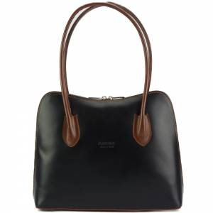 Claudia leather shoulder bag