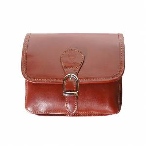 Yuri leather shoulder bag