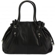 Elisabetta Shoulder calf-skin leather bag
