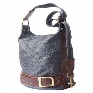 Caterina S leather shoulder bag