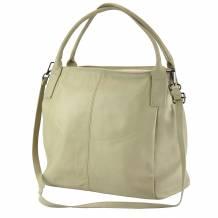 Kentia leather shoulder bag