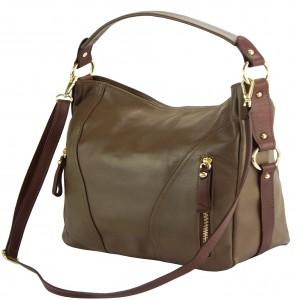 Sabrina GM leather shoulder bag