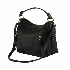 Sabrina leather shoulder bag