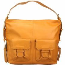 Totally leather shoulder bag - Stock