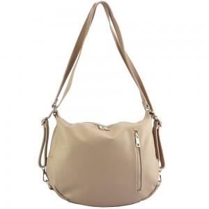 Prisca leather Shoulder bag