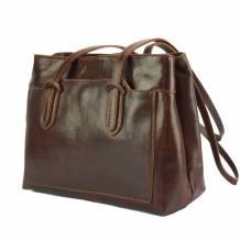 Eleonora leather shoulder bag