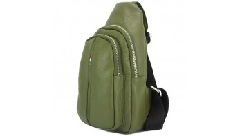 Nissim Leather Single backpack