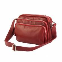 Assunta leather shoulder bag