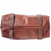 Freestyle leather shoulder bag