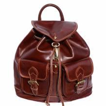 Davide leather backpack