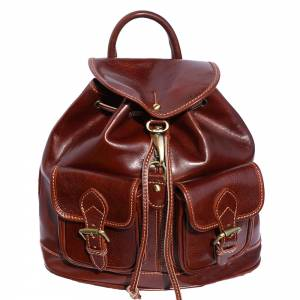 Davide leather backpack