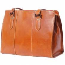 Verdiana leather shoulder bag