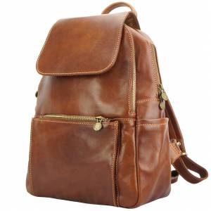 Brittany Backpack in cow leather