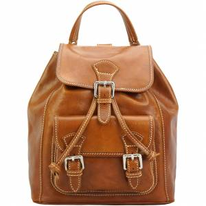 Backpack Tuscany in calfskin leather