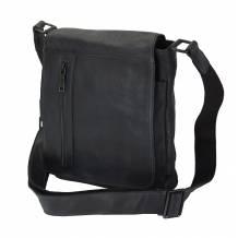 Igor Messenger Flap leather bag