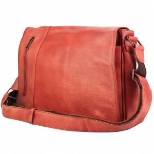 Grigori leather Messenger bag