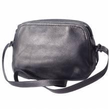 Twice GM leather cross-body bag