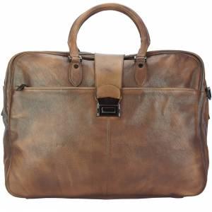 Travel bag Raimondo in vintage leather