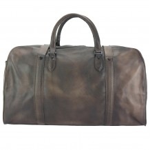 Travel bag Serafino in vintage leather