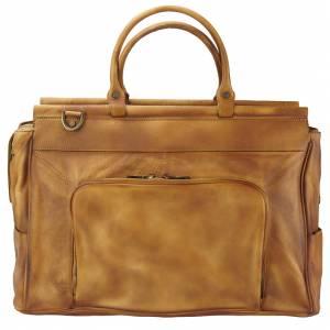 Travel bag Gennaro in vintage leather