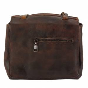 Livio leather Messenger bag