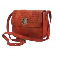 Shoulder flap bag Luna by vintage leather