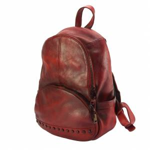 Walter leather Backpack