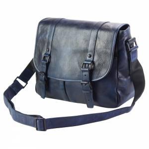 Mattia leather Messenger bag