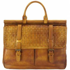 Florine leather handbag
