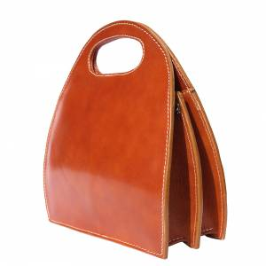Samantha leather handbag