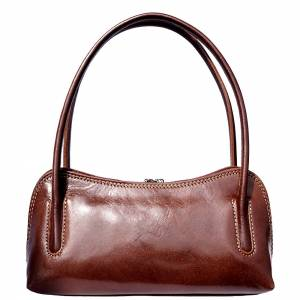 Serafina leather handbag