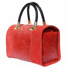 Emma leather Boston-bag