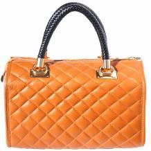 Elsa leather Boston bag