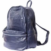 Unisex leather backpack