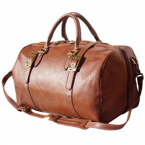 Fortunato Leather travel bag
