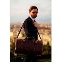 Fortunato Leather travel bag