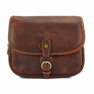 Enrica R leather Cross-body bag