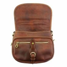 Enrica R leather Cross-body bag