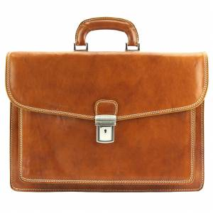 Dalmazio Leather Briefcase