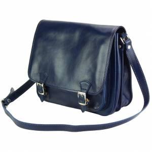 Palmira Leather Messenger Bag
