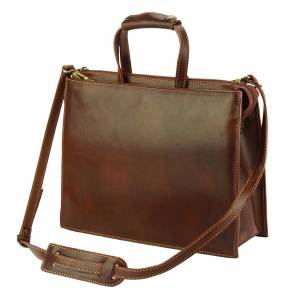 Ivano leather Tote bag